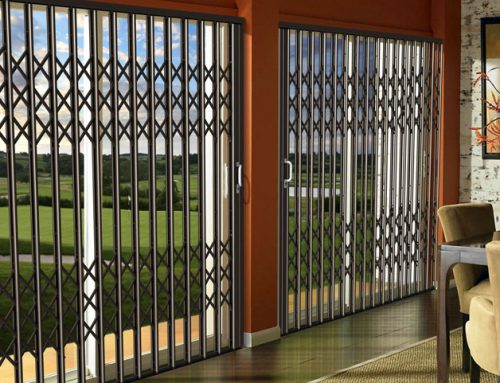 Aluminium Security Doors