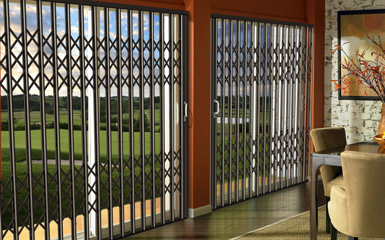 Aluminum-Security-Door