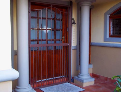 Custom Security Swing Gate