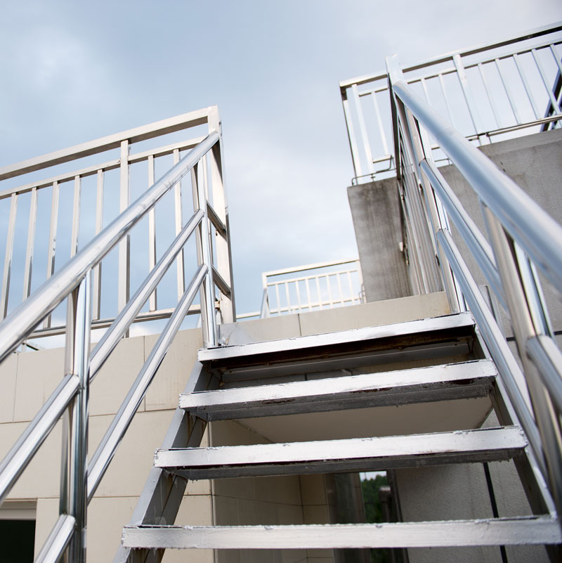 Balustrade-Aluminium-stairs