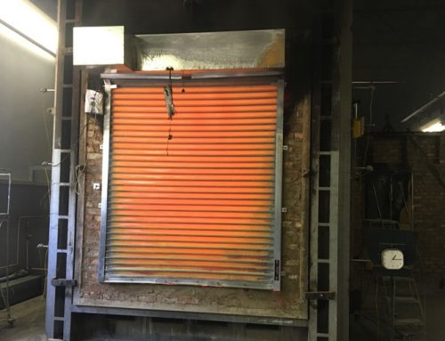 Fire Roller Shutter After 1hr15mins