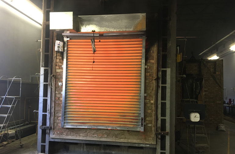 Fire-roller-shutter-after-1hr15mins