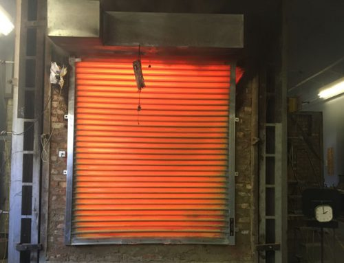 Fire Roller Shutter After 2 Hours