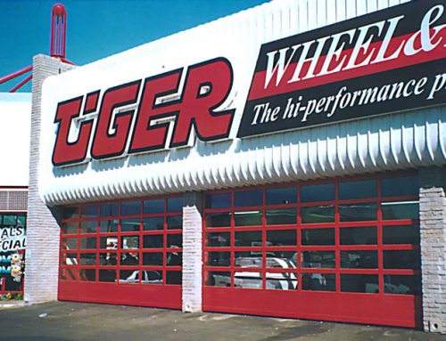 Tiger & Wheel Sectional Garage Doors