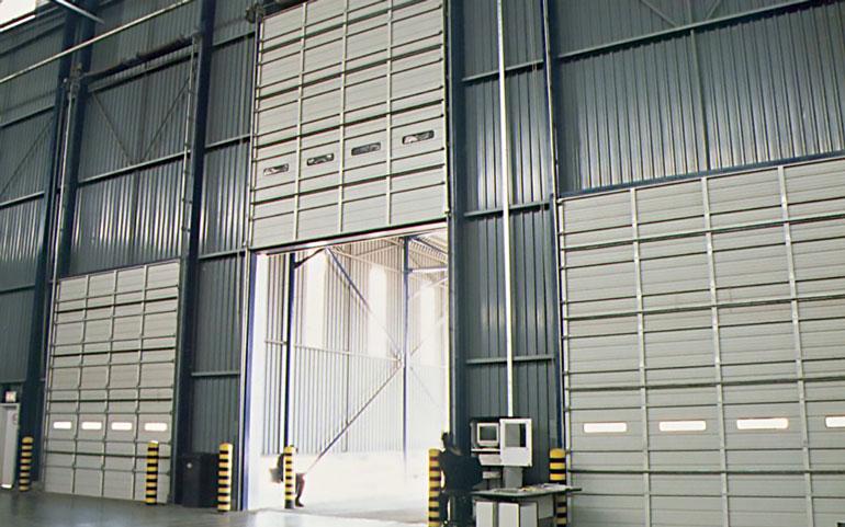 Warehouse-vertical-sectional-garage-doors