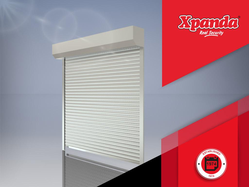 Xpanda Security Aluminium roller shutters