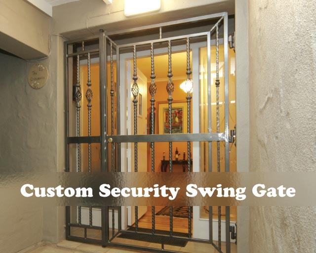 Custom Security Swing Gate