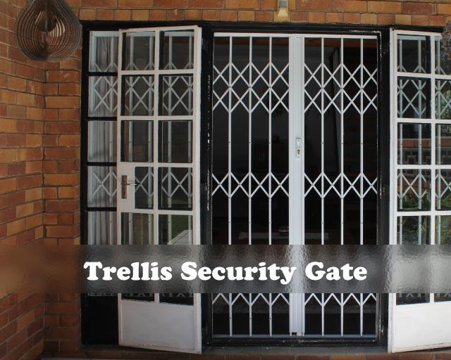 Sliding-Trellis-Security-Gates