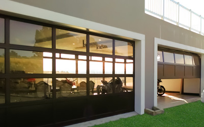 Aluminium Garage Door;