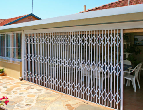 Residential Retractable Security Gate